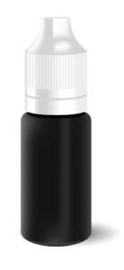 Mögliche CBD E-Liquid Flasche